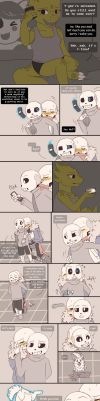 .Undertale Fancomic: Annoying Dog - Page 21.+ by Kintanga