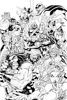 Age of Apocalypse  by Roger Cruz by RODYTSUMURA