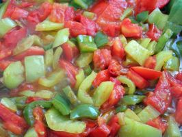 Tomatoes and peppers 2 by valsomir
