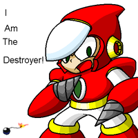 I AM THE DESTROYER by G-Bomber