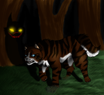 Hawkfrost's Shadow by Hawktalon-2