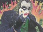 Very old TDK Joker Painting by theharmine