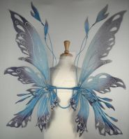 Posie wings in blue by glittrrgrrl