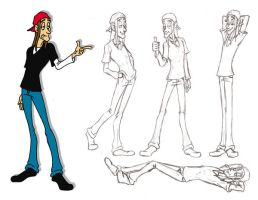 Bud Mann Poses by TR-the-Animator