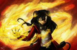 conflagration by Salamandra-Ignis