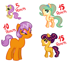 Leftovers Adoptables by BronyBase