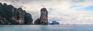 Thailand, Krabi, Pai Plong Bay by fly10