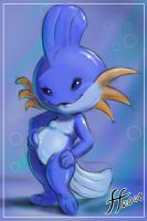 Sexy Mudkip by 14-bis