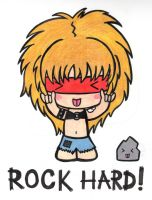 ROCK HARD! by towelgirl21