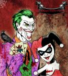 Happy Halloween from The Joker and Harley by jokercrazy