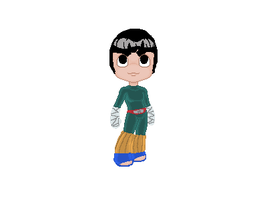 Rock Lee Doll by tatsuyasaverem