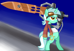 Generator Lyra: Big Fat Sword by aj0joe