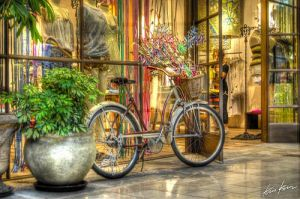 bike at the mall by KrisKros2k