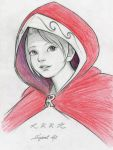 Little Red Riding Hood (Face) by SquirrelHsieh