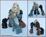 Bionicle MOC: Fissure by Rahiden
