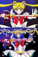 Super Sailor Moon (done) by WhiteMageRinny