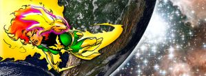 Phoenix In Space by Maxered