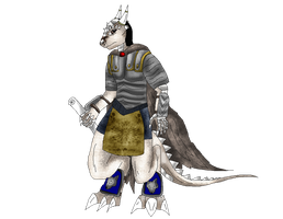 Me-Zharta the Dragonborn by Dreamer-In-Shadows