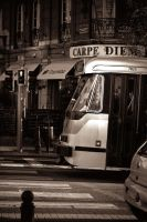 Tram at Merode, Brussels by FastDevil76