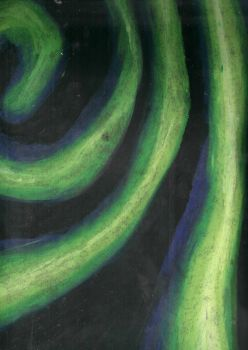 green swirls by MonkeyT