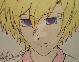 Tamaki Drawing by blackblur28