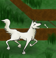Minecraft: Wolf by Coricle