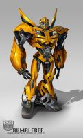 TF Bumblebee flatfloat by AugustoBarranco