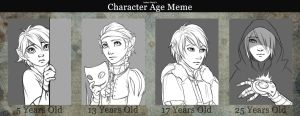 Character Age Meme - Quinn by Evelar