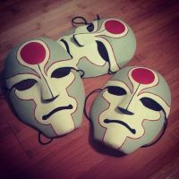 Amon Masks by BlackKrogoth