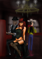 Burlesque Saloon by kur0s4k1