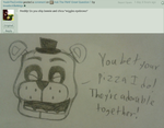 Ask The FNAF Crew! Question 85 by InvaderAllieNinja