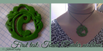 Tomb Raider necklace: first try by KatherineHeartless