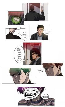 Killing Stalking meme: ....those aren't mine by darkangelz24