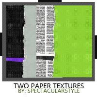 2 paper textures by spectacularstyle