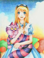 Alice in Wonderland by eKurosu