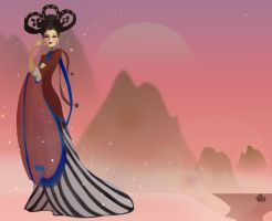 Empress Wu Zetian: China by PopFantastic