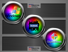 jSerlinArt          Chromium Icon Pack 2 by jSerlinArt