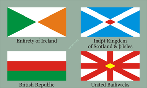 British Isles by varpho