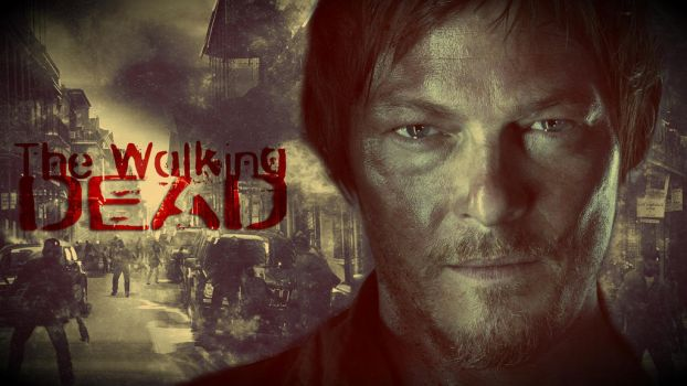 The Walking Dead - Darly Dixon Wallpaper by TussoR
