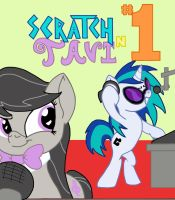Scratch N' Tavi Title Cover 1 by SilvatheBrony