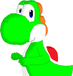 Yoshi drawing by WolfLover12321