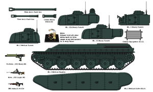 Build Your Own: Fortnum M1 Heavy Tank by AdmiralSerenity