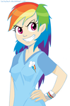 Rainbow Dash by lainchan