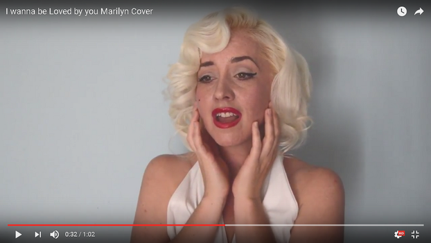 Marilyn- I wanna be loved by you/Cover by Tris-Marie