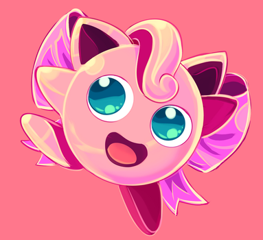 Jigglypuff commission by MarlonLeal