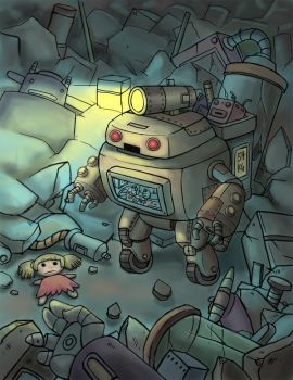 Robot by IceAce