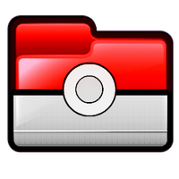 Poke Ball Folder Icon by asianplatypus6
