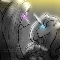 MLP RP Art: Are you telling me I'm Wrong? by AnimeEmm