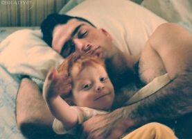 Dad and I by saintgreen86