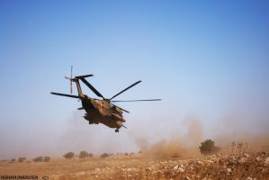 IDF helicopter landing by yeshayad